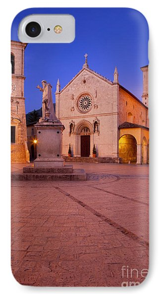 Norcia Umbria Phone Case by Brian Jannsen