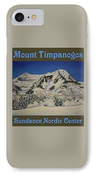 Nordic Timpanogos Poster IPhone Case