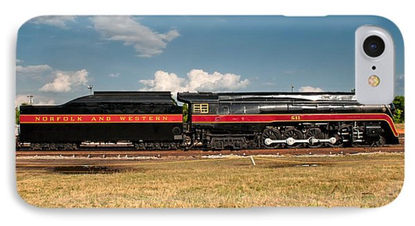 Norfolk And Western 611 J-class IPhone Case by John Black