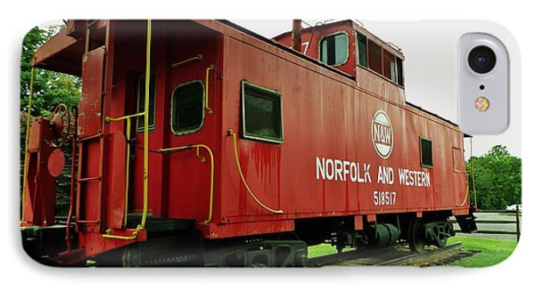IPhone Case featuring the photograph Norfolk And Western by Christy Saunders Church