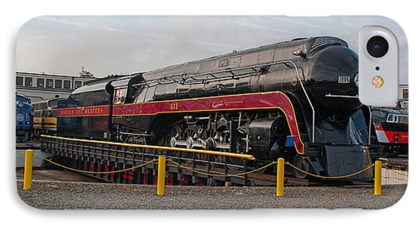 Norfolk And Western Class-j 611 IPhone Case by John Black