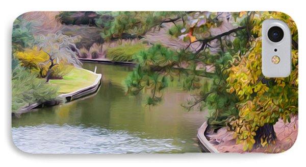 Norfolk Botanical Gardens Canal 7 Phone Case by Lanjee Chee