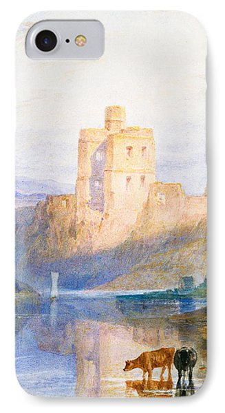 Norham Castle An Illustration To Marmion By Sir Walter Scott IPhone Case by Joseph Mallord William Turner
