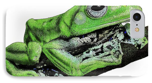 Norhayatis Flying Frog IPhone Case by Roger Hall