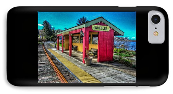 Norm Laknes Train Station IPhone Case by Thom Zehrfeld