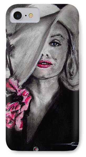 Norma Jean IPhone Case by Eric Dee