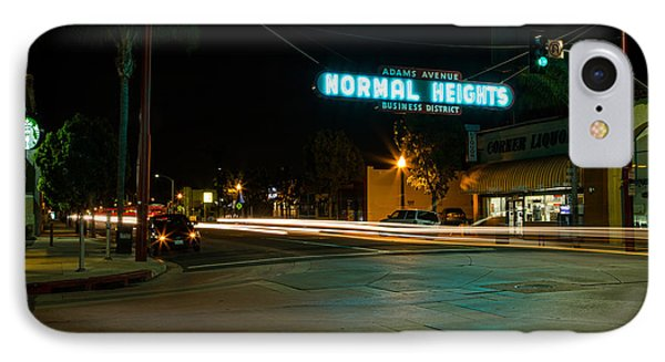 Normal Heights Neon Phone Case by John Daly