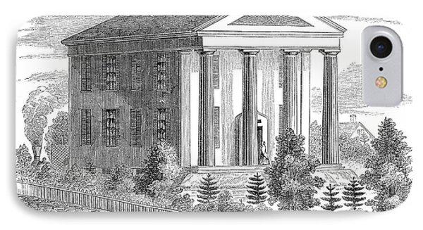 Normal School, 1853 IPhone Case by Granger