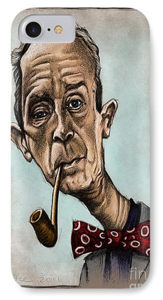 Norman Rockwell IPhone Case by Andre Koekemoer