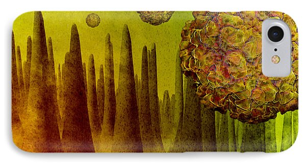 Norovirus In Small Intestine Phone Case by Carol and Mike Werner