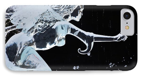 North America Usa Fairbanks World Ice IPhone Case by Terry Eggers