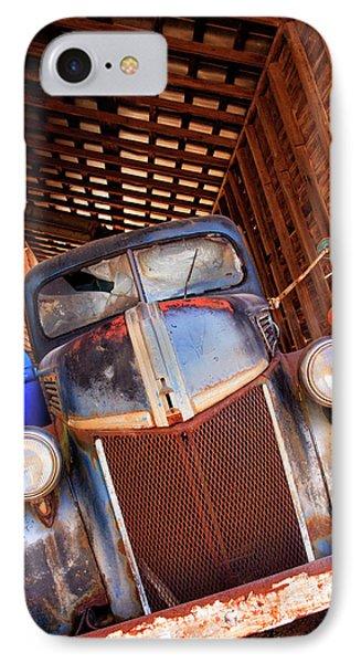 North America, Usa, Georgia, Old Rusty IPhone Case by Joanne Wells