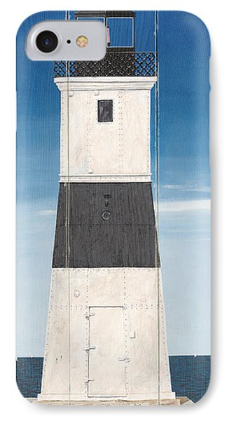 North American Lighthouses - Erie IPhone Case by Gail Fraser
