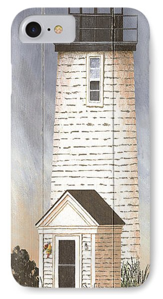 North American Lighthouses - Lewis Bay IPhone Case by Gail Fraser