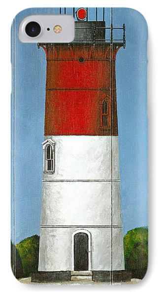 North American Lighthouses - Nauset IPhone Case by Gail Fraser