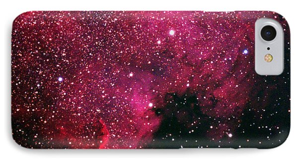 North American Nebula IPhone Case by Alan Vance Ley