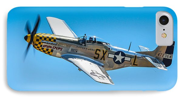 North American P-51d Mustang  Phone Case by Puget  Exposure