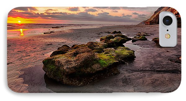 North Beach Rock II Phone Case by Peter Tellone