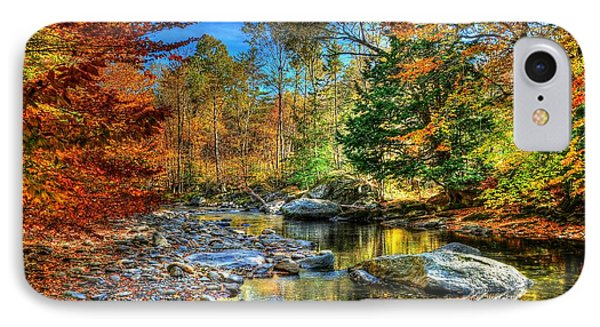 North Branch In Fall IPhone Case by John Nielsen