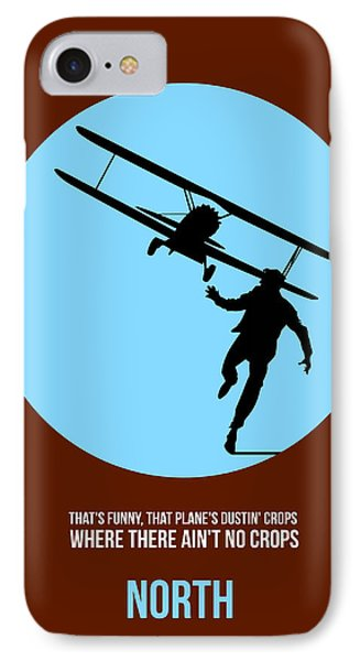 North By Northwest Poster 2 IPhone Case by Naxart Studio