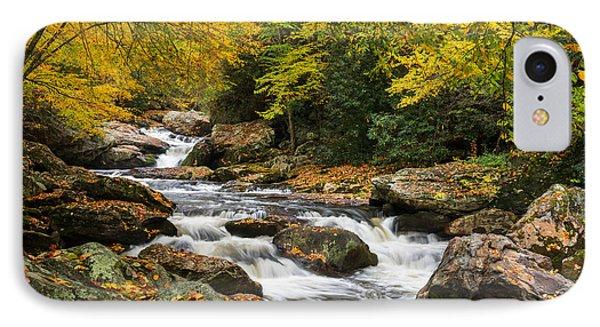 North Carolina Highlands Nc Autumn River Gorge IPhone Case
