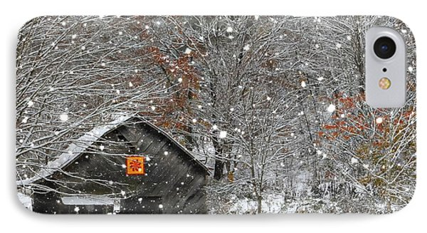 North Carolina Quilt Barn IPhone Case by Benanne Stiens