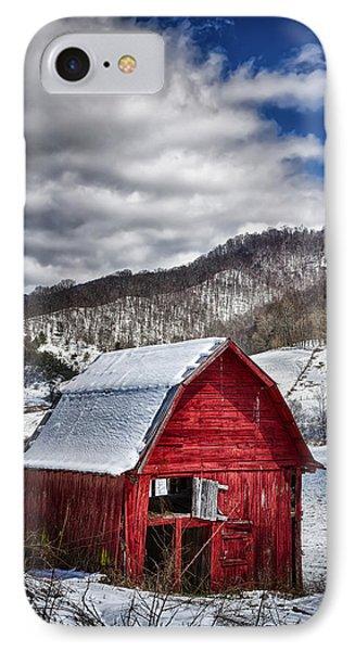 North Carolina Red Barn Phone Case by John Haldane