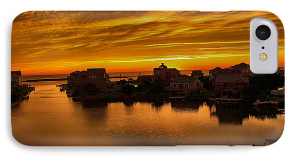 North Carolina Sunset IPhone Case by Tony Cooper
