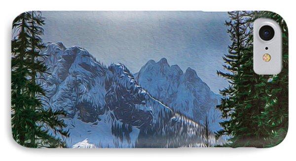 North Cascades Inspiration Phone Case by Omaste Witkowski
