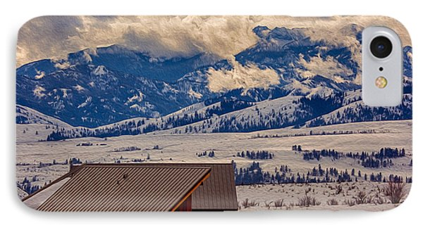 North Cascades Mountain View Phone Case by Omaste Witkowski