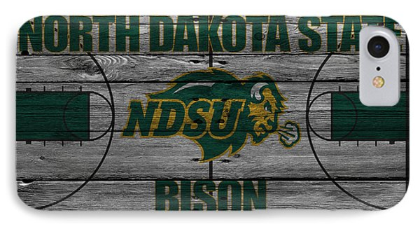 North Dakota State Bison IPhone Case by Joe Hamilton