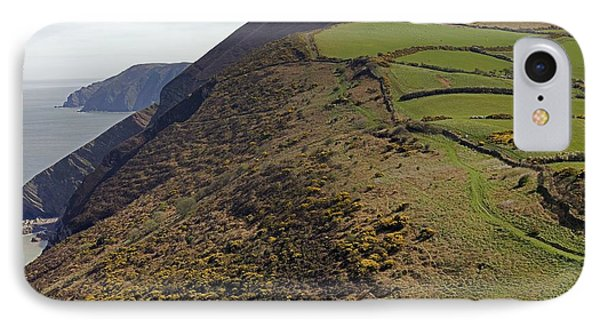 North Devon And Combe Martin IPhone Case by Dr Keith Wheeler
