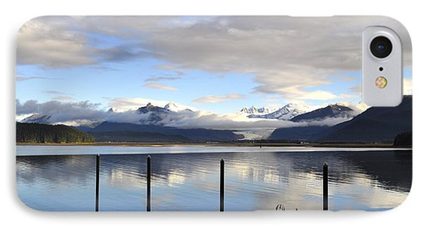 IPhone Case featuring the photograph North Douglas Reflections by Cathy Mahnke