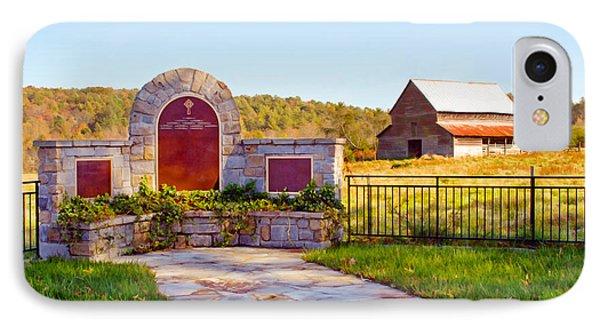 IPhone Case featuring the photograph Landscape Barn North Georgia by Vizual Studio