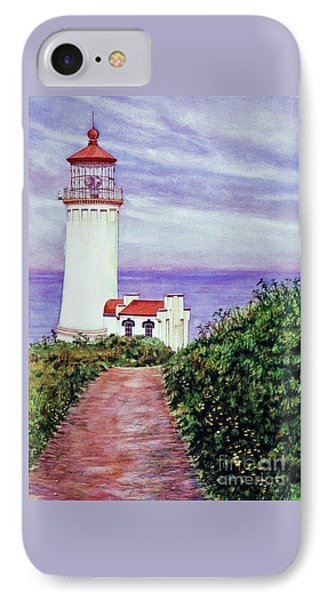 North Head Light House On The Washington Coast IPhone Case