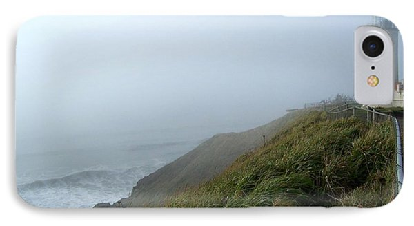 North Head Lighthouse 1 IPhone Case by Peter Mooyman