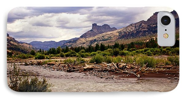 North Of Dubois 3 Phone Case by Marty Koch