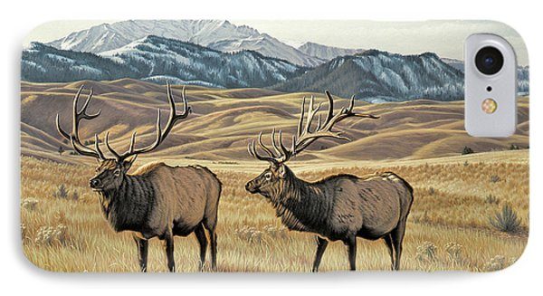 North Of Yellowstone IPhone Case by Paul Krapf