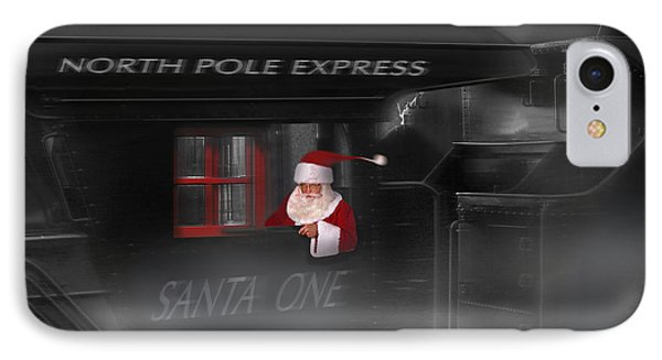North Pole Express IPhone Case by Mike McGlothlen