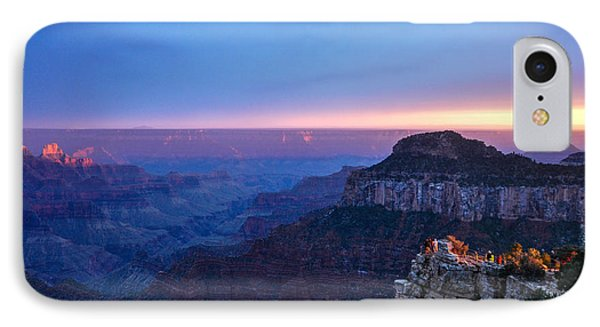 IPhone Case featuring the photograph North Rim Sunset by Cheryl McClure