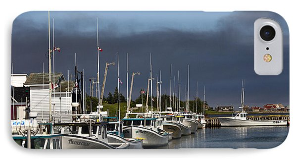 North Rustico Harbour IPhone Case by Alan Kepler