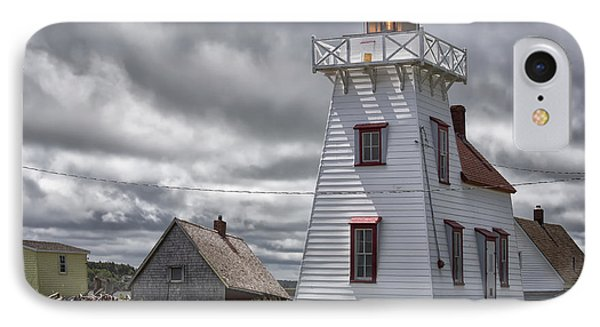 North Rustico Lighthouse IPhone Case by Verena Matthew