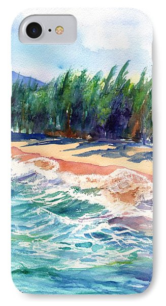 North Shore Beach 2 IPhone Case by Marionette Taboniar