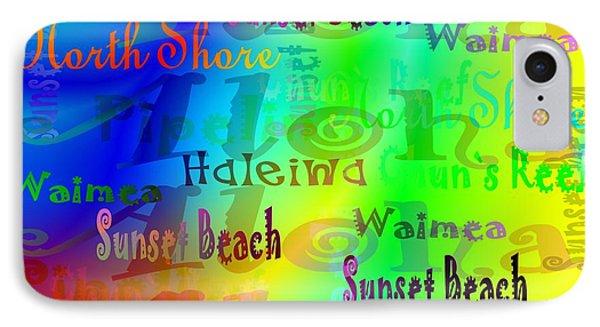 North Shore Beaches IPhone Case