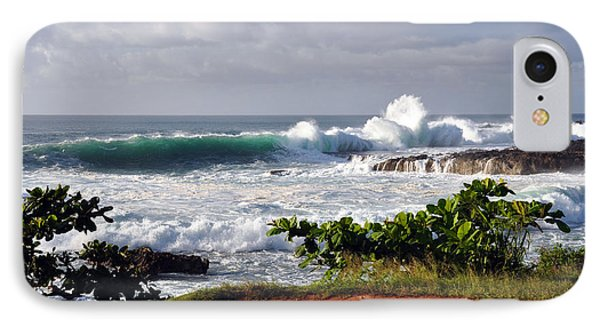 IPhone Case featuring the photograph North Shore Oahu by Gina Savage