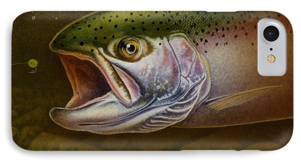 North Shore Steelhead IPhone Case by Jon Q Wright