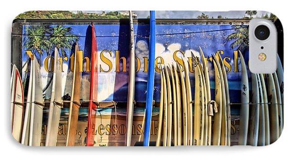 North Shore Surf Shop IPhone Case by DJ Florek
