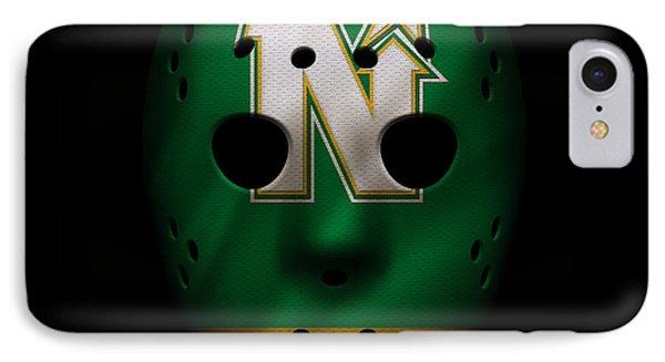 North Stars Jersey Mask IPhone Case by Joe Hamilton