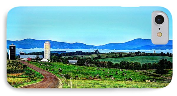 North Troy Dairy IPhone Case by John Nielsen