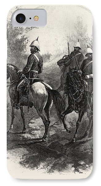 North-west Mounted Police, Canada IPhone Case by Canadian School